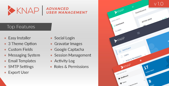 Knap - User Login and Advanced User Management - CodeCanyon Item for Sale