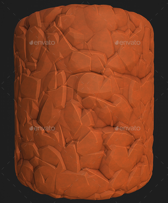 Stylized Rock 2 - 3DOcean Item for Sale