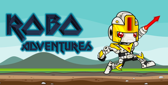 Robo Adventures Android - iAP-Admob-Multi levels/worlds - CodeCanyon Item for Sale