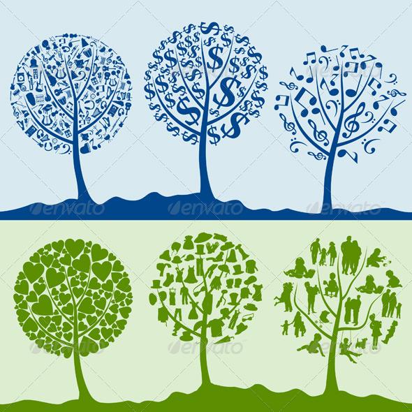 Wood tree5 - Flowers & Plants Nature