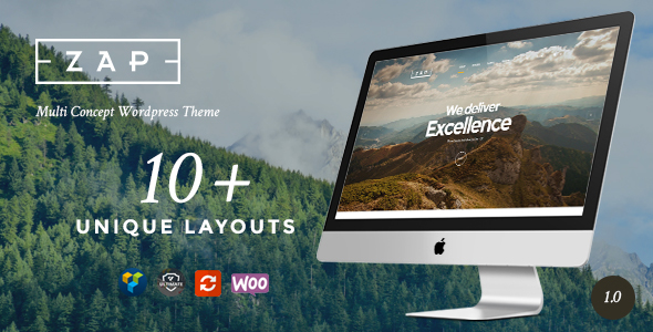 ZAP – Multi-Purpose WordPress Creative Theme