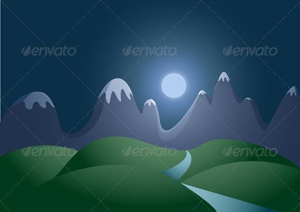 Night Landscape. - Landscapes Nature