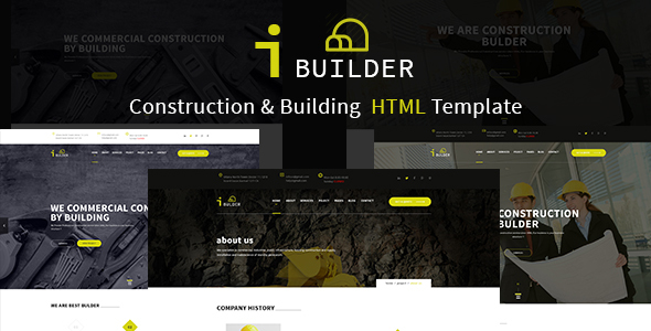 iBUILDER – Construction & Building Template
