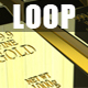 Fine Gold Bars 3D Render 1080p Loop - VideoHive Item for Sale