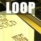 Fine Gold Bars 3D Render 4K Loop - VideoHive Item for Sale