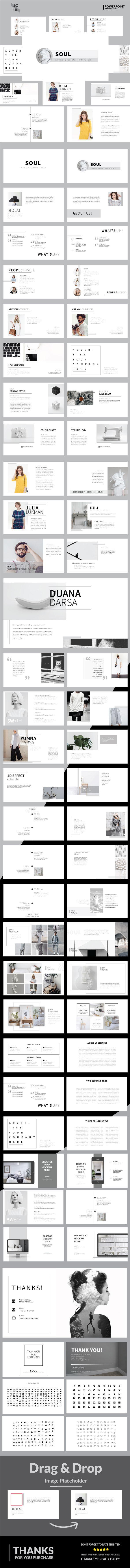 Soul - Multipurpose Powerpoint Template - Business PowerPoint Templates