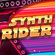 Synth Rider Synthwave Flyer Template