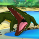 Big Crocodile Open his Mouth - VideoHive Item for Sale