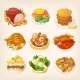 Family Dinner Meals - GraphicRiver Item for Sale