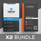Business Card Bundle 29 - GraphicRiver Item for Sale