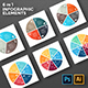 Circle Geometric Diagrams. PSD, EPS, AI. - GraphicRiver Item for Sale