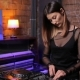 DJ Girl on Decks at the Club - VideoHive Item for Sale