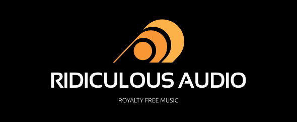 Ridiculous audio homepage black color