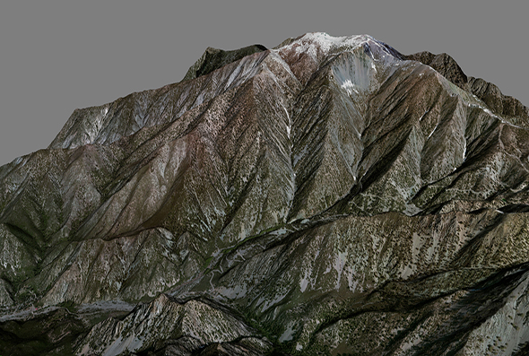 Mountain San Antonio - 3DOcean Item for Sale
