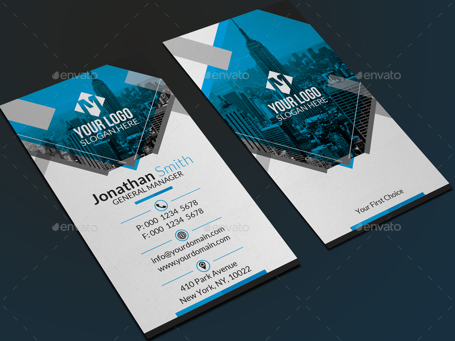 Creative Corporate Business Card by far_star60 | GraphicRiver