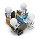 3D Small People - Development Team - GraphicRiver Item for Sale