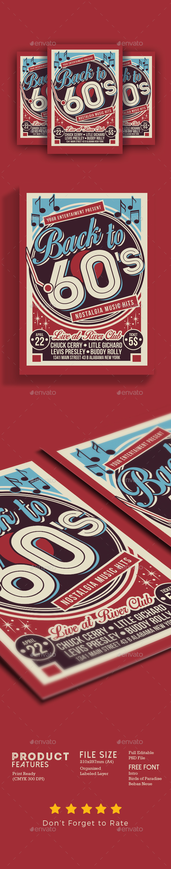 Vintage Music Event - Events Flyers