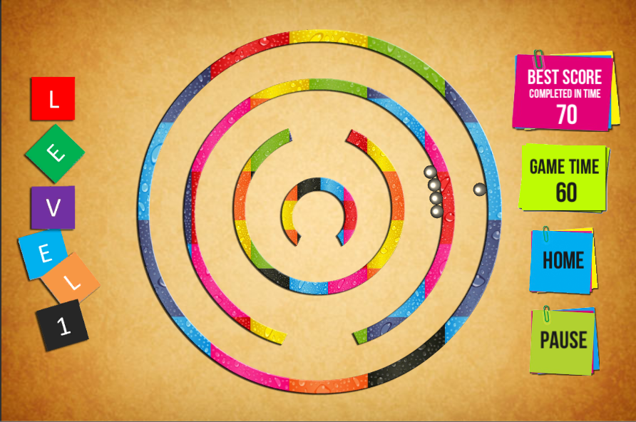 Roll the balls Labyrinth maze Unity3D Source Code + Android iOS Deployment  + Admob integrated