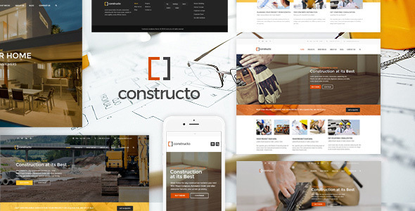Constructo - Construction WordPress Theme for Construction, Building and Architecture Business - Business Corporate