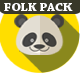 Happy Folk Pack