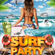Surf Party Flyer Template - GraphicRiver Item for Sale