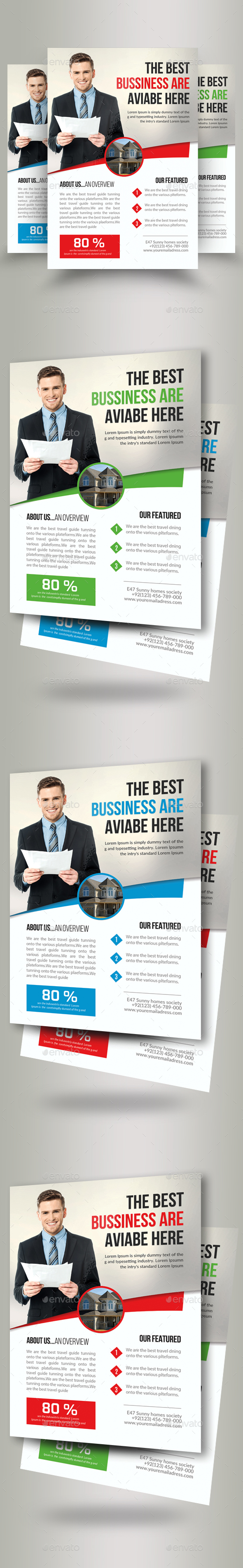 Real Estate Agent Flyer - Corporate Flyers