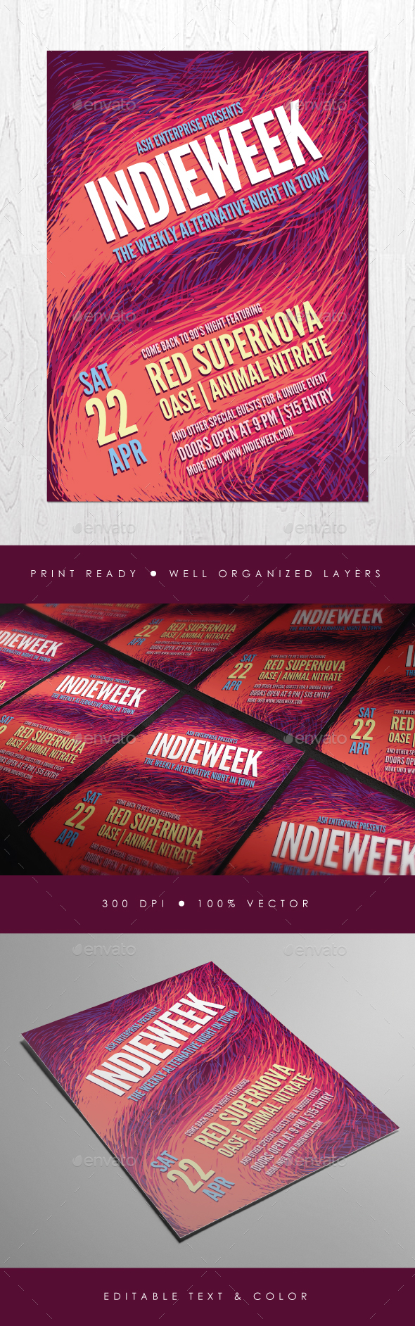 Expressive Indie Flyer - Events Flyers