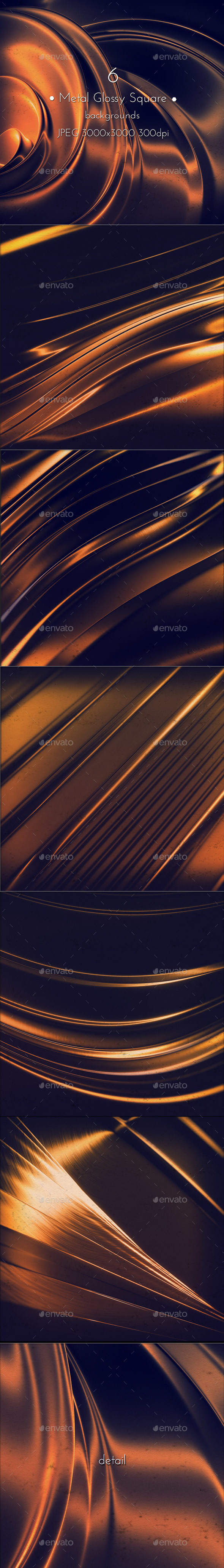 Metal Glossy Background - Abstract Backgrounds