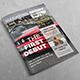 Sport Magazine Template - GraphicRiver Item for Sale