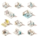 Vector Isometric Low Poly Hospital Rooms - GraphicRiver Item for Sale