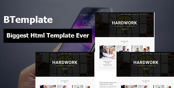 BTemplate Corporate Agency Business and Startup Responsive HTML5 Template