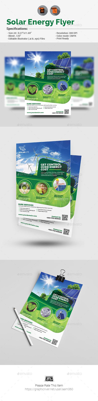 Solar Energy Flyer - Corporate Flyers