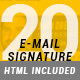 20 Email Signature - GraphicRiver Item for Sale