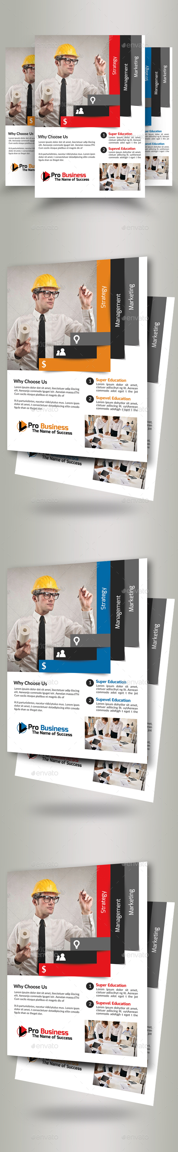 Civil Engineer & Architect Business Flyer - Corporate Flyers