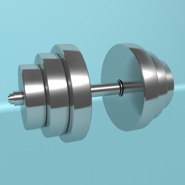 Dumbbell - 3DOcean Item for Sale