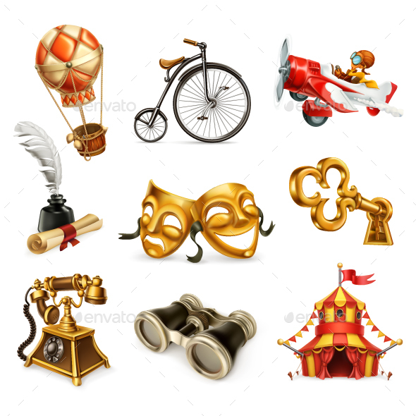 Old Objects - Miscellaneous Vectors