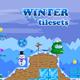 Platformer Tileset for Winter 2D Game
