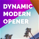 Dynamic Modern Opener - VideoHive Item for Sale