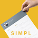 Simpl Resume - GraphicRiver Item for Sale