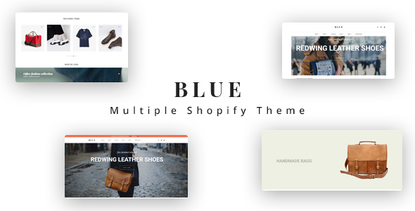 Ap Blue Shopify Theme