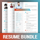 Bundle Resume - GraphicRiver Item for Sale