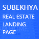 SUBEKHYA: Real Estate Landing Page