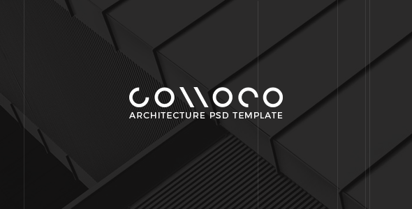 Connoco - Architecture PSD Template - Creative PSD Templates