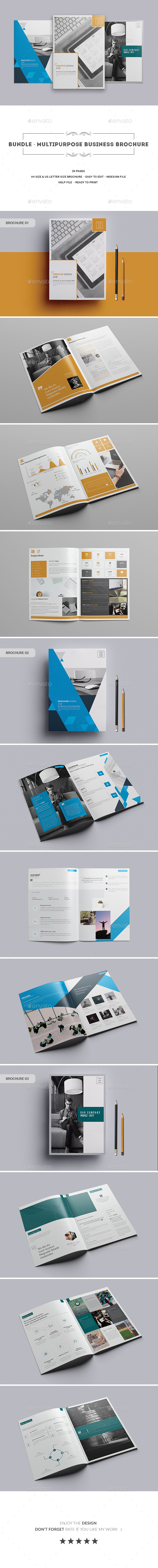 Bundle ।  Multipurpose Business Brochure - Corporate Brochures