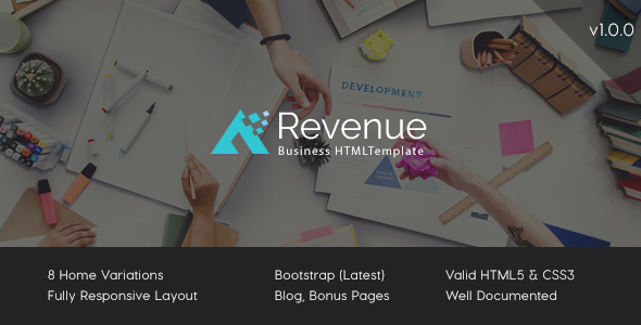 Revenue - Business HTML Template