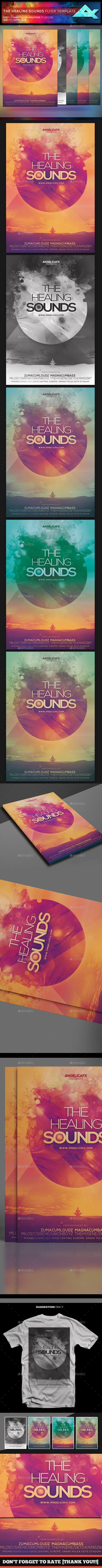 The Healing Sounds Flyer Template - Events Flyers