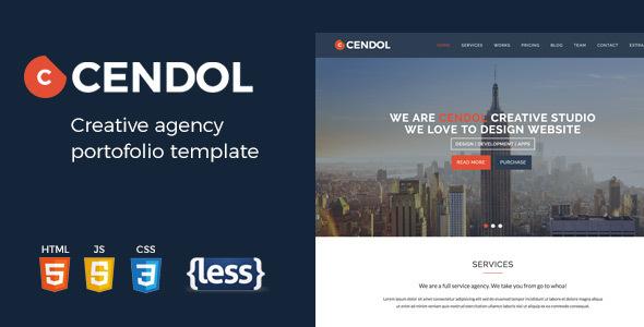 Cendol – Creative Agency Portofolio HTML Template