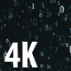 Dark Binary Digital Background - VideoHive Item for Sale