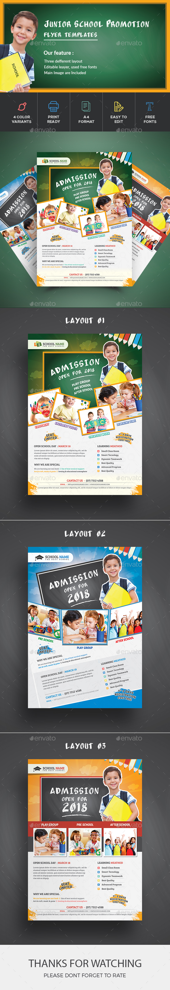 School Flyer - Corporate Flyers