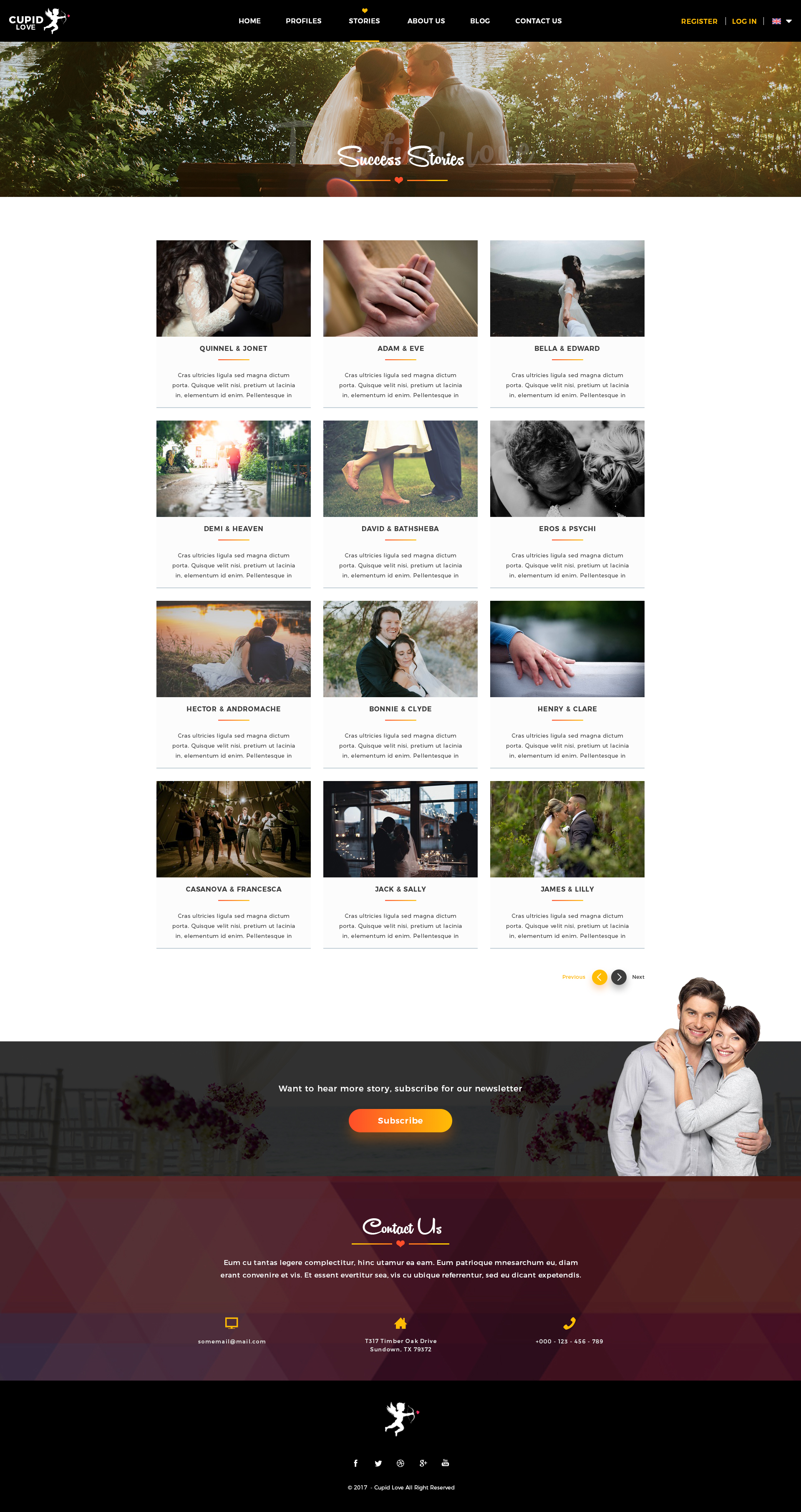 love dating website Premium dating website templates by template monster - a web design giant trusted by hundreds of thousands of happy customers 24/7 support included power up your site.